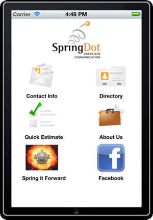 SpringDot Mobile App